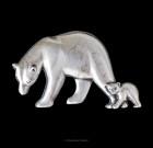 Polar Bear Lapel Pin