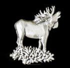 Moose Lapel Pin