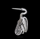 Heron Lapel Pin