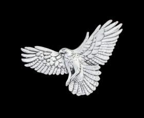 Hawk Lapel Pin
