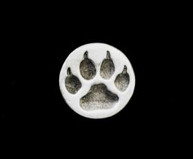 Wolf Paw Lapel Pin