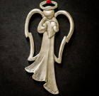 Angel Holding Heart Ornament