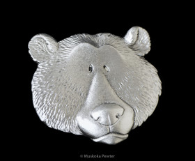 Bear Head Magnet