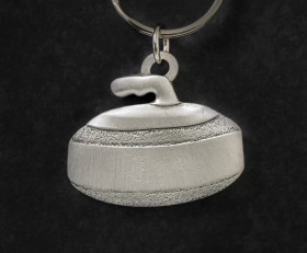 Curling Key Chain