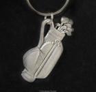 Golfing Key Chain