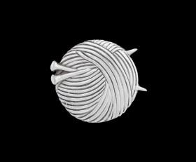 Knitting Lapel Pin