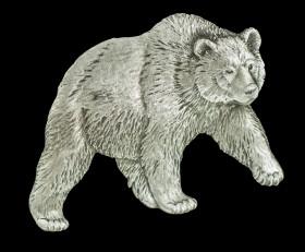 Grizzly Bear Lapel Pin