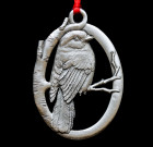 Gray Jay Ornament