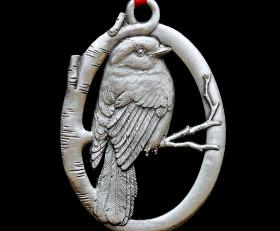 Gray Jay Ornament