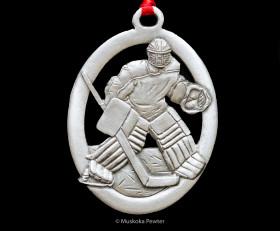 Hockey Goalie Ornament