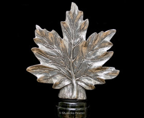 Maple Leaf Wine Stopper